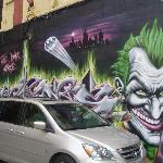 Batman Graffiti Mural