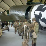 Troops preparing to enter the C-47