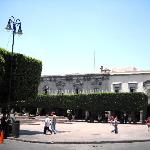 Plaza de Armas in Queretaro