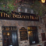 The front of the brazen Head