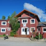 The Hostel del Glaciar front aspect