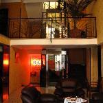 Lobby of Hotel Sharden