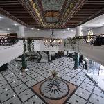 Hall de réception avec plafond de la Mezzanine