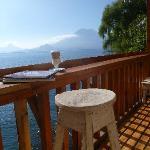 Lake Atitlan Front Porch View
