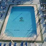 The pool from 6th floor
