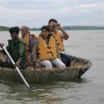 The coracle ride