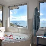 Luxury bathroom with 2 person bath & separate shower