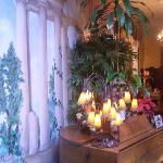 The beautiful lobby!