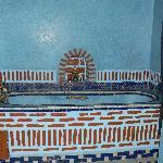 Une des salles de bains du riad Maison Do