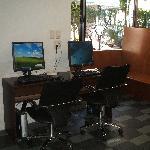 lobby computers