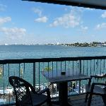 Bayfront private balconies available
