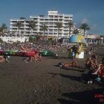 Strand nahe der Anlage