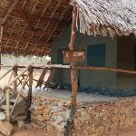 la tenda dove ho dormito