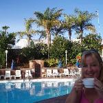 Poolside at Hotel Caserio - pre swimmi swimmi