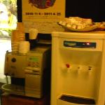 Help your self coffee machine at Hotel Lobby