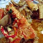 Arroz de marisco (riso con molluschi e crostacei)