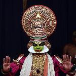 CLASSICAL KATHAKALI DANCE PERFORMANCE AT VARKALA