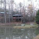 Cabins across the pond