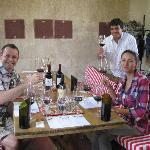 Wine tasting at Mendel with Javier