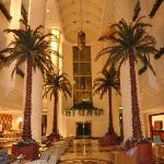 MAIN ENTRANCE HALL OF HOTEL