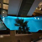 la piscina dalla nostra camera