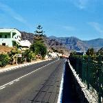 Strasse nach Mogán bei La Humbridilla