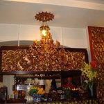 The rastaurant decoration