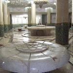 Salle des ablutions de la mosquée