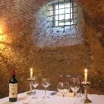 dining in the cellar