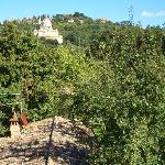 San Biagio from the garden