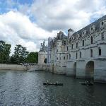 Canoe rental on water near castle