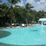 One of the pools/pool bar