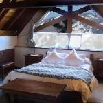 Our bedroom at Hosteria Canela