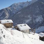 Inverno a Thuillettaz