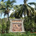 Tajong Jara Resort Entrance