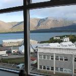 Hotel Borgarnes - The view !
