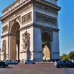A couple of blocks from Eymard House is the Place Charles de Gaulle and the Arc de Triomphe