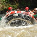 Rafting on Citarik River