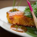Black cod marinated with miso
