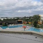 vue de la piscine