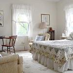 The Davis Room, queen bed plus twin bed, private bath down the hall