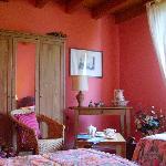 6.B&B La Colombara. Pozzolengo (Bs). Lake Garda. Northern Italy. Rose Room.