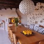 furnished dining area - barbecue