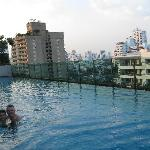 Pool at 11th floor.