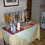 Buffet céréales