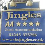 You can't miss Jingles.