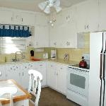 Kitchen of one-bedroom cottage