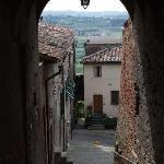 Peccioli street scene