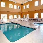Indoor Heated Pool & Spa open year around.