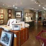 Tam O'Neill Fine Arts gallery interior